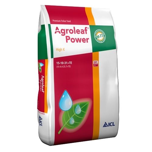 Agroleaf Power HIGH K 15+10+31+ME+Biostimulatori